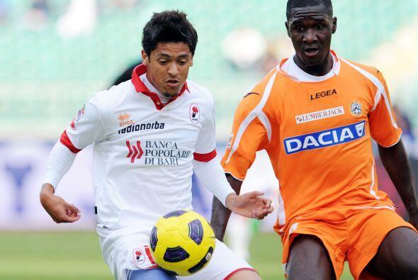 Bari y Udinese jugaban por objetivos distintos; los primeros por salir d...
