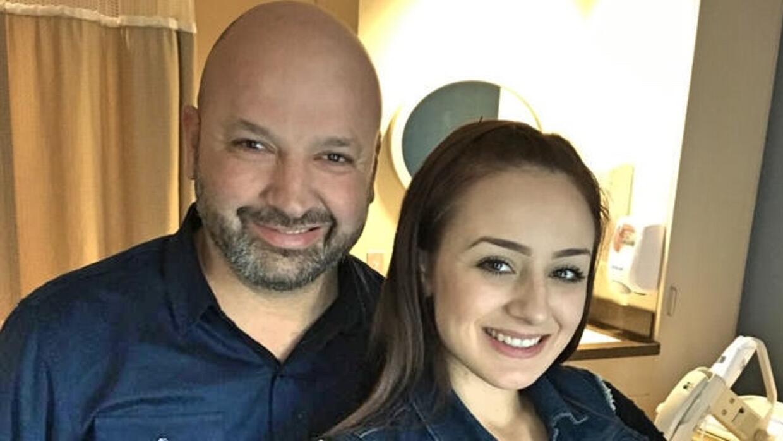 Raúl y Esmeralda González tenían dos años de...