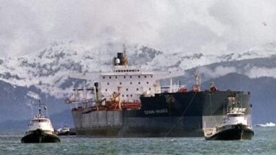 El tanquero Exxon Valdez.