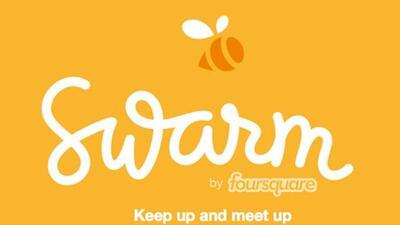 Con Swarm podrás luchar por la alcaldía de un lugar sólo con tus amigos....
