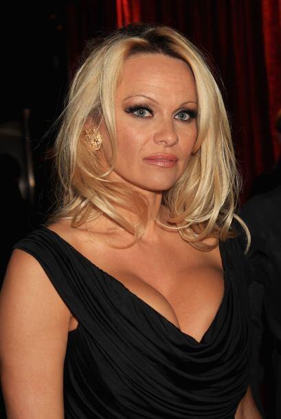A Pamela Anderson no le afectó que la eliminaran de 'Dancing on Ice' cua...