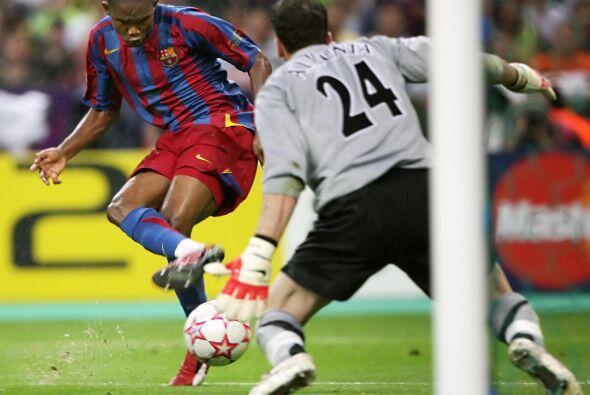 Hasta el minuto 76 empató el cuadro español, por medio del atacante came...