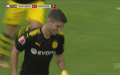 Pulisic, el sucesor de Donovan, comienza la Bundesliga con este golazo
