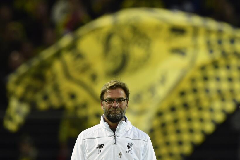 Jürgen Klopp visitó a su Borussia Dortmund ahora como DT del...