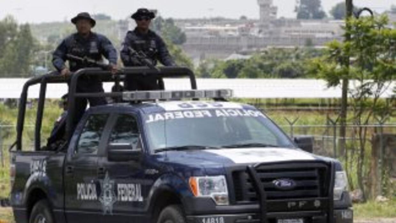 Autoridades patrullando en Jalisco.