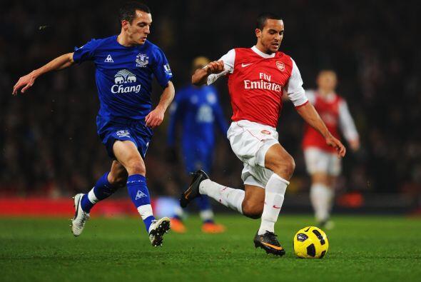 El Arsenal recibió en su estadio al Everton.