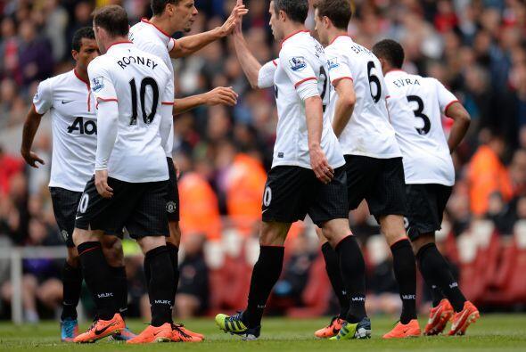 El atacante no festejó su gol por respeto a los 'Gunnes', al igual que c...