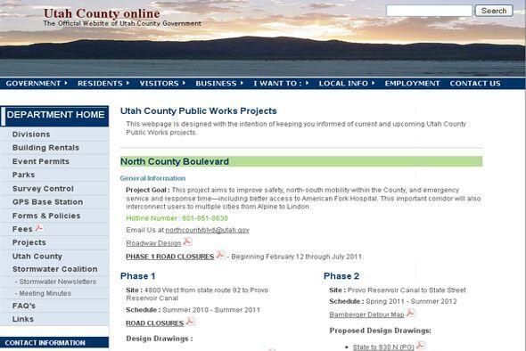 De 2000 a 2010 el empleo creció 47.1% en el condado de Utah, prin...