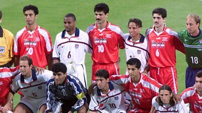 Historias de Mundiales: entre diferencias, el fútbol unió a Irán y Estados Unidos en 1998