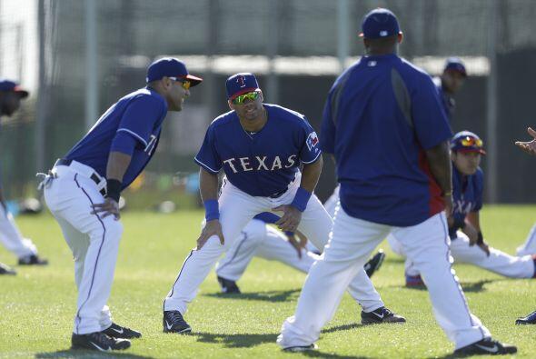 Entrenamiento Rangers