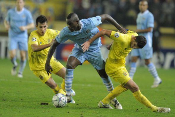 Manchester City le ganó al Villarreal por 3 a 0.