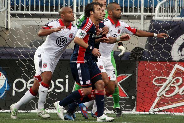 El DC United comenzó a trabajar el partido para conseguir el empate.