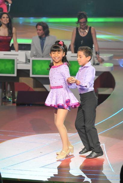 Se mostraron bastante preparados durante su baile.