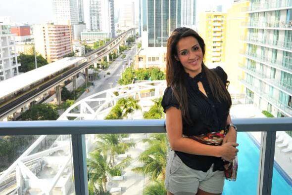 Melissa Marty nos abrió las puertas de su fabuloso departamento en Miami.