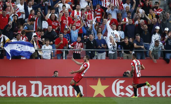 Impensada derrota del Real Madrid a manos del Girona en su visita a Cata...