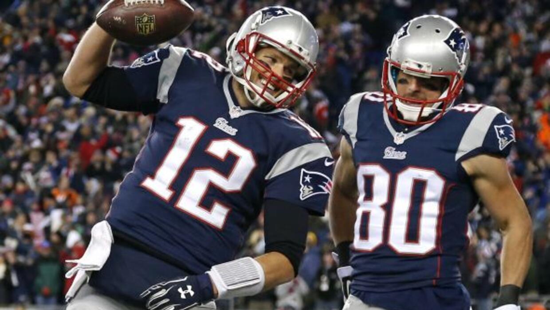 El quarterback de los Patriots siguió haciendo historia (AP-NFL).