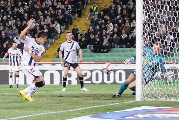 El Udinese le metió 3 a la 'Veccia Signora'.