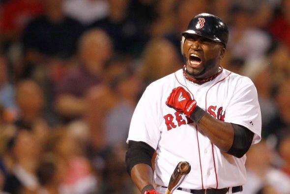 DH. David Ortiz. Medias Rojas de Boston. 'Big Papi' bateó para .205 en 2...