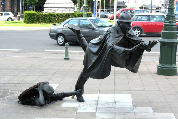 En muchos lugares podemos encontrar esculturas capaces de dejarnos con l...