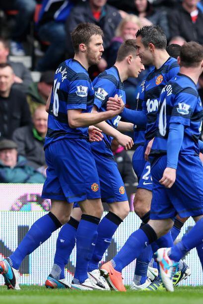 El United parecía estar en camino a un triunfo que los acercara más al t...