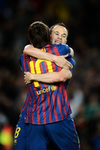 Un abrazo que vale más que mil palabras...y que garantiza miles de goles.