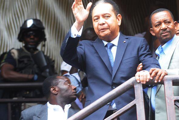 Jean-Claude Duvalier fue bautizado con el apodo de 'Baby doc' a consecue...