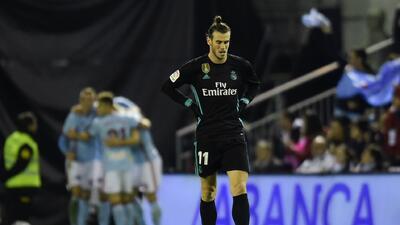A pesar del doblete de Bale, el Madrid igualó con el Celta y se aleja del Barcelona en La Liga