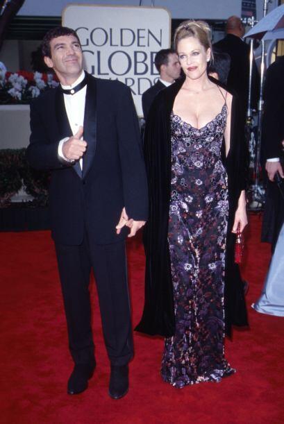 Antonio Banderas y Melanie Griffith derrocharon amor y mucha elegancia e...