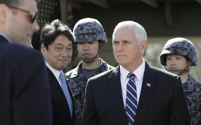 Mike Pence, vicepresidente estadounidense, adelantó que est&aacut...