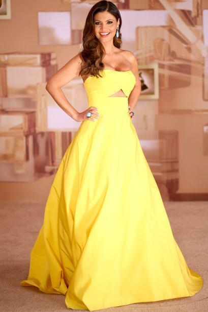 El amarillo es un color de moda.