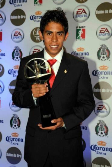 Néstor Calderón, de Toluca, se quedó con el premio en el Apertura 2008.