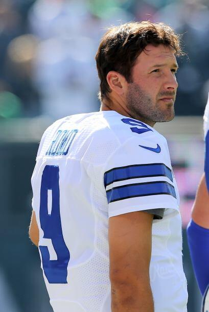 Tony Romo quarterback de Dallas Cowboys.