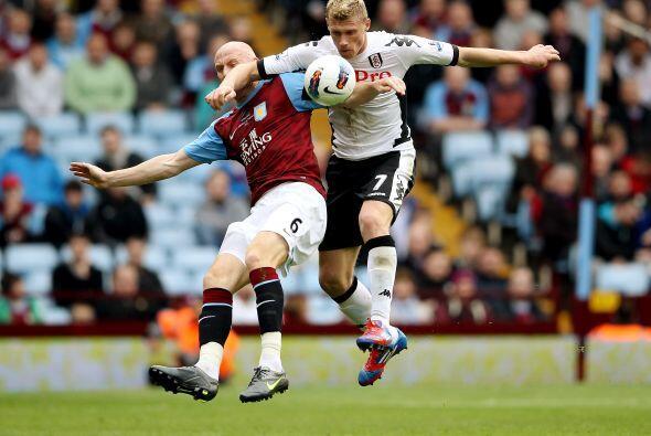 Aston sorprendió al Fulham, que venía en racha, y le propinó una dura de...