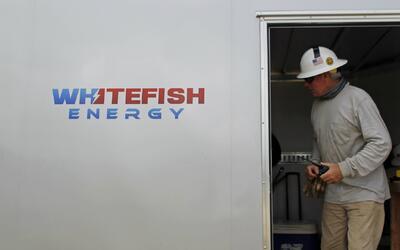 Contratista de Whitefish en Manatí, Puerto Rico.