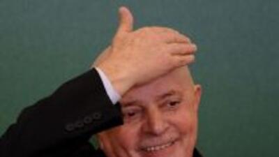 El ex presidente de Brazil, Luiz Inácio Lula da Silva, salió del hospital.