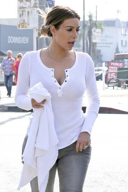 Kim lucía muy natural. Mira aquí lo último en chismes.