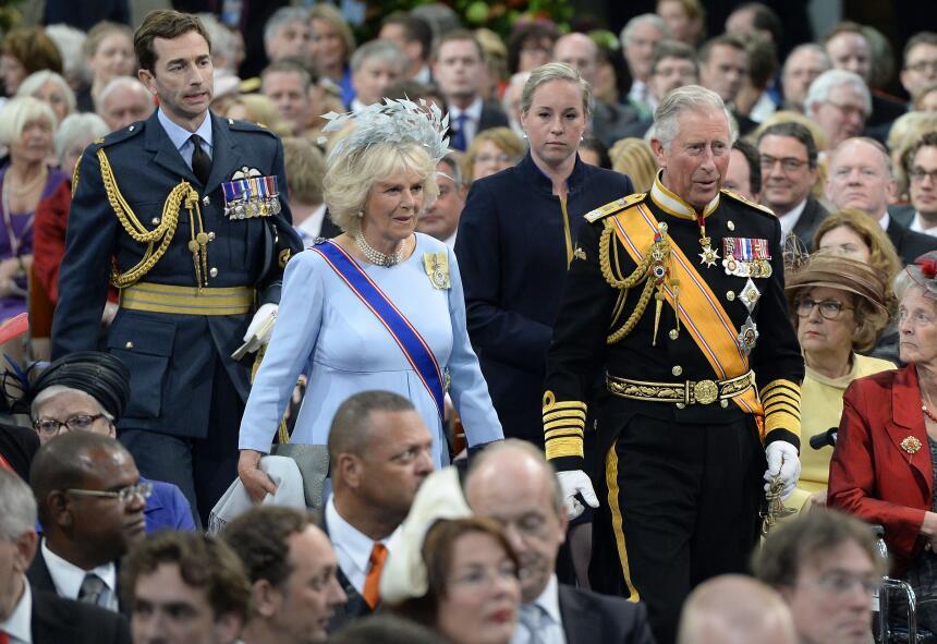 Carlos conoció a la duquesa de Cornualles en un partido de polo en el 1970.