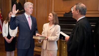 Los magistrados de la Corte Suprema de Estados Unidos (FOTOS)