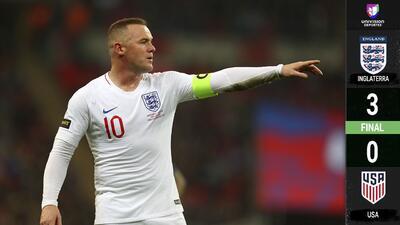 Inglaterra 3 – 0 Estados Unidos – Goles y Resumen completo