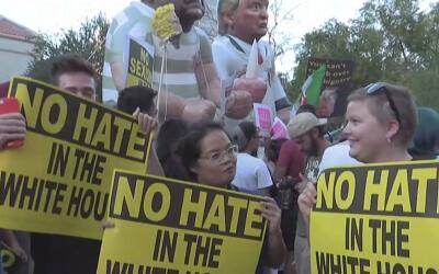 Estas son las acciones que debe evitar si es inmigrante y desea protesta...