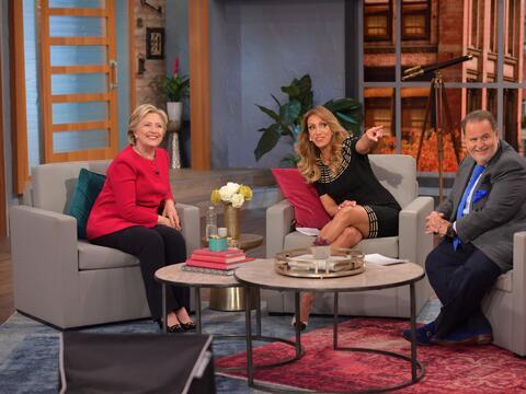 La candidata a la presidencia Hillary Clinton estuvo en El Gordo y la Fl...