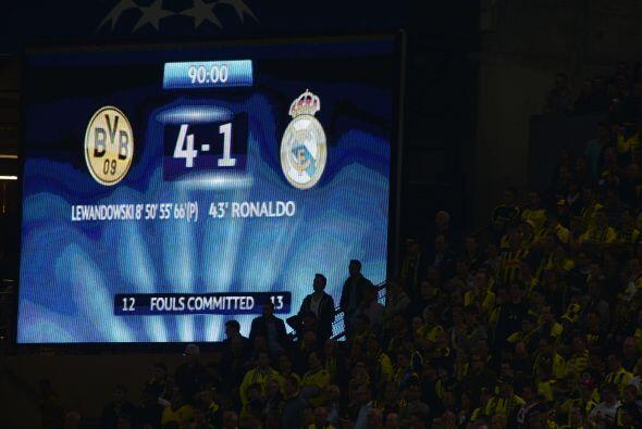 Un marcador que sorprendía al mundo de la Champions League por segundo d...