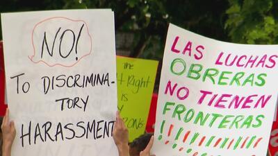 Protestan en Nueva York contra actos del grupo de supremacía blanca Identity Evropa
