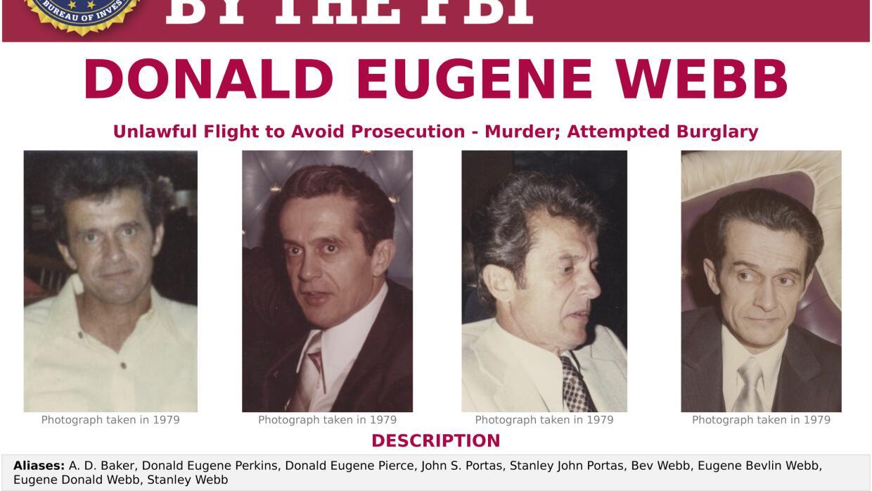 Afiche de búqueda del FBI