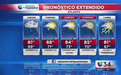 Se esperan más lluvias en la región