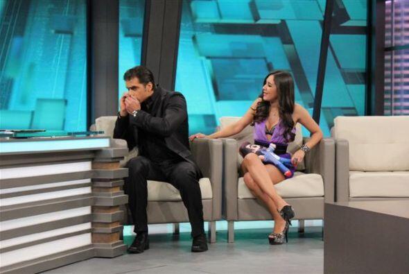 Los dos hablan de su personaje en esta divertida telenovela.