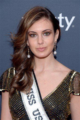 Erin Brady, quien quedara entre las 10 finalistas de Miss Universo 2013...