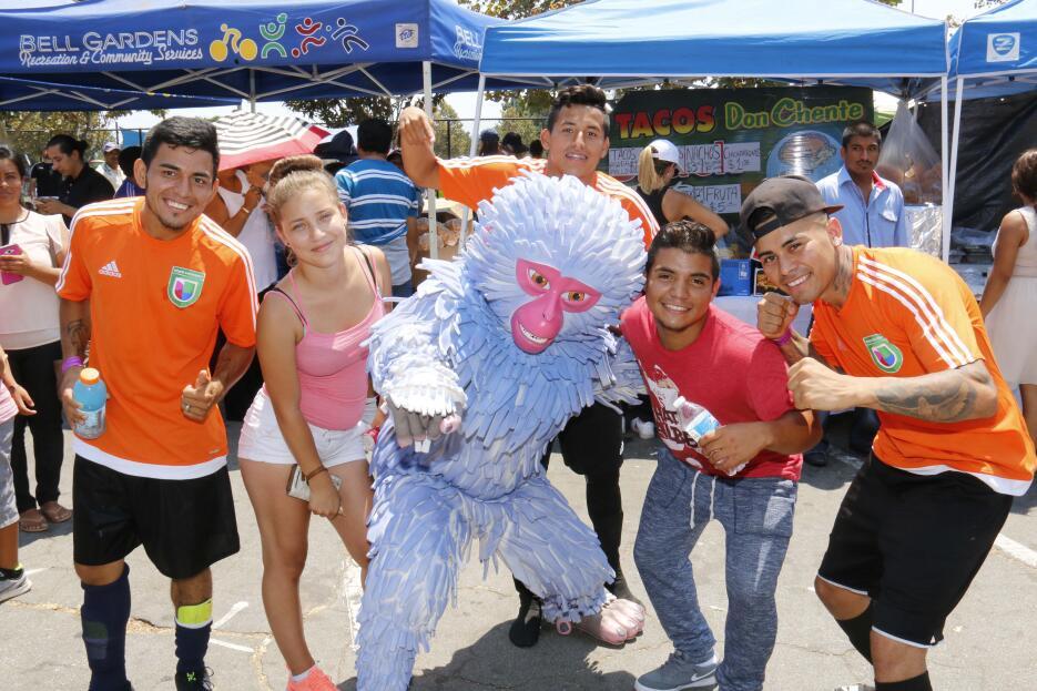 Así se gozó la Copa Univision 2016 en Los Ángeles.