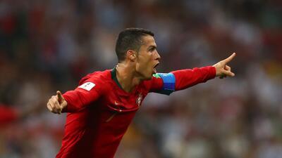 En fotos: con Cristiano Ronaldo brillante, Portugal salvó empate con España en el grupo B