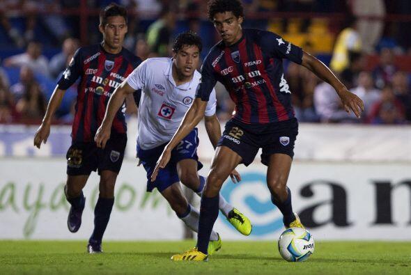 Ahí enfrentó al Atlante, que había eliminado al Puebla por mismo marcado...